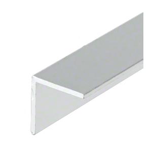 """CRL-U.S. Aluminum AL07599 Mill Finish L-Bar 3/4"""" x 3/4"""" x 1/16"""" - 21'-2"""""""