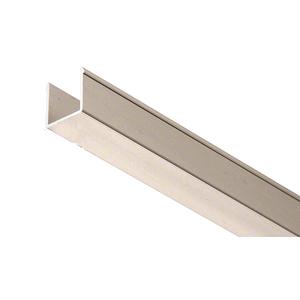 """CRL EHF360BNEXT 36"""" Brushed Nickel Snap-in-Filler Insert for EZ-Adjust Header Kit"""
