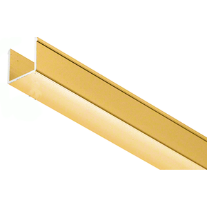 "36"" Brite Gold Anodized Snap-in-Filler Insert for EZ-Adjust Header Kit"