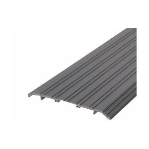 "CRL TH017D36 Dark Bronze 7"" x 1/2"" Saddle Aluminum Threshold - 36-1/2"" in Length"
