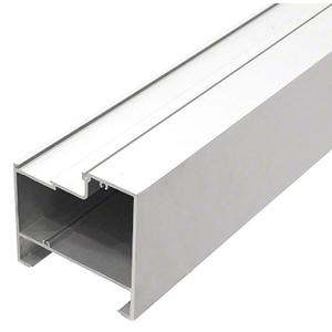 """CRL-U.S. Aluminum S45099 4-1/2"""" x 4-1/2"""" Bulkhead, Mill - 24'-2"""""""