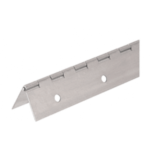 "CRL 3200NS Nickel on Steel Piano Hinge with 2"" Open Width"