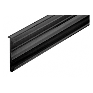 "CRL D5001BL Black Price Tag Molding Extrusion 144"" Stock Length"