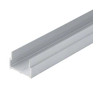 """CRL-U.S. Aluminum SC70099 Bulkhead Sill Shoe, Mill - 21'-6"""""""