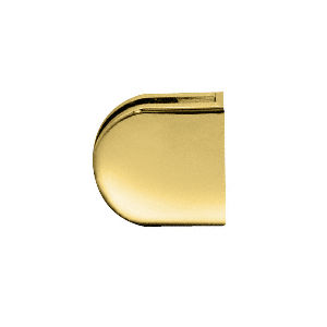 """Brass Z-Series Round Type Flat Base Zinc Clamp for 1/2"""" Glass"""
