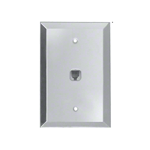 CRL GMP115C Clear Modular Phone Jack Glass Mirror Plate