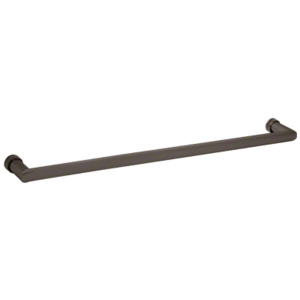 """CRL 0R180RB 18"""" Oil Rubbed Bronze Single-Sided Oval/Round Towel Bar"""