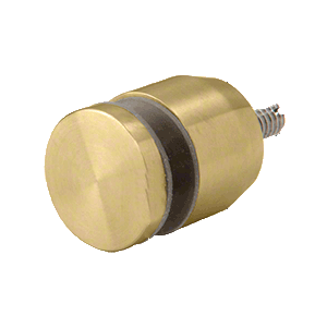 "CRL ADJCAP34BR Brass Adjustable Height Standoff Cap for 3/4"" Base"