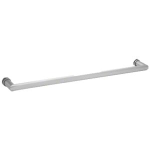 """CRL 0R18SC 18"""" Satin Chrome Single-Sided Oval/Round Towel Bar"""