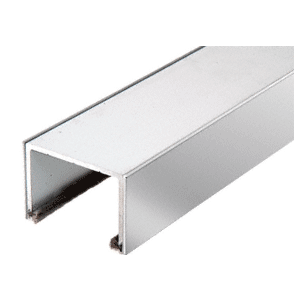 CRL SD1TTPS Polished Stainless Steel Sliding Door Top Rolling Track