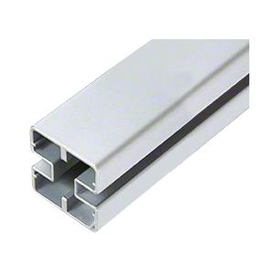 """CRL HD156S Metallic Silver Heavy-Duty Windscreen Post Only - 156"""""""