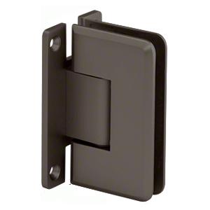 CRL P1N0370RB Oil Rubbed Bronze Pinnacle 037 Series Wall Mount Full Back Plate Standard Hinge