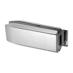 CRL PTH314BS Brushed Stainless PTH Series Glass Mounted Long Patch Lock Keeper