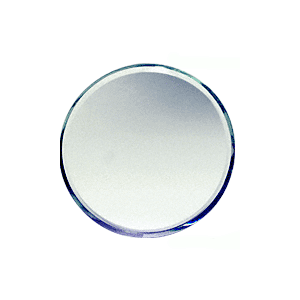 Clear Mirror Round Shape Glass Mirror Baguettes