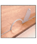 """CRL 725DU Bronze Anodized Semicircular Design Ticket Window with 10-1/2"""" x 5-1/4"""" Opening"""