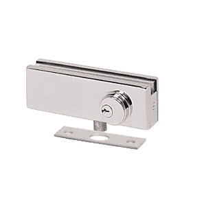 CRL AMR205BS Brushed Stainless AMR Series Patch Lock
