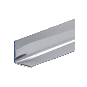 "CRL 1/2"" Stainless Steel L-Angle - 144"" Stock Length - pack of 10"