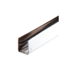 "CRL SS958 1/4"" x 7/16"" Stainless Steel Edge Molding 144"" Stock Length"