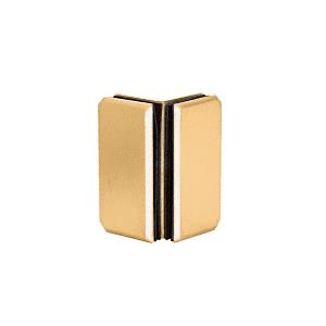 Brass Monaco Series Glass-to-Glass Bracket