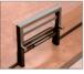 "CRL 701DU Duranodic Bronze Vertical Sliding Ticket Window With 8-1/4"" x 3-1/2"" Opening"