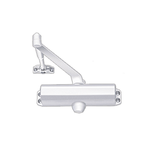 CRL DC54W White ANSI Grade 1 Spring Size 4 Surface Mount Door Closer