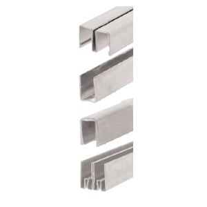 CRL Aluminum Finish Stick-On Showcase Lock Keyed Alike Cabinet And Furniture