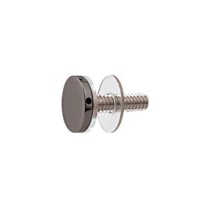 "CRL CAP34GM Gun Metal 3/4"" Diameter Standoff Cap Assembly"