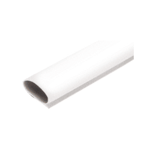 White Self-Adhesive Weatherstrip - 17' Roll
