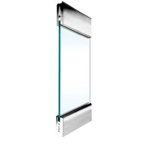 """Polished Stainless Type 1 Standard with 6"""" Square Rails Top and Bottom"""