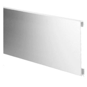 "CRL 10AD Aluminum 10"" Bottom Door Rail Adaptor"