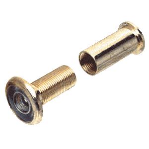 CRL S4020B Brass Wide Angle Door Viewer - Bulk 10 Pack