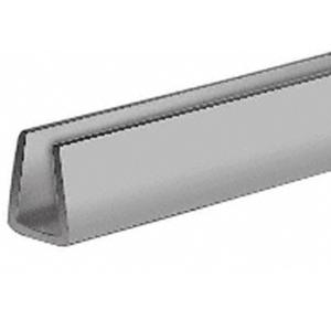 "CRL D720GRY Gray 1/4"" Plastic Edge Molding"