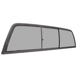 "CRL ECT410S ""Perfect Fit"" Three-Panel Tri-Vent with Solar Glass for 1997+ Dodge Dakota"