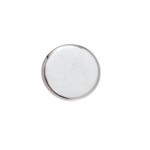 CRL MC02CH Chrome Round Mirror Clip Set