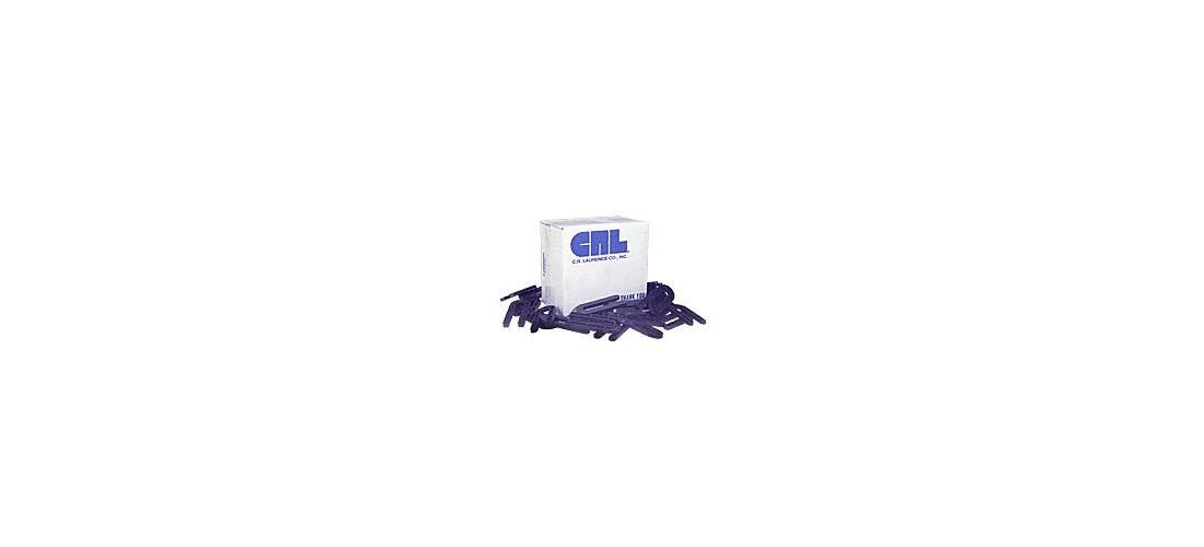 """CRL Red 1//8/"""" x 3-1//2/"""" Plastic Horseshoe Shims 100 Pack PHS18"""