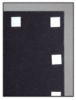 "CRL CRL4022 White 1/32"" x 3/4"" Foam Tape Squares"
