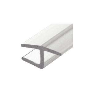 "CRL P140HJ Polycarbonate H-Jamb 180 Degree for 1/4"" Glass"