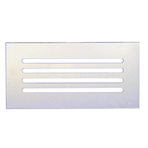 "CRL FMG1260 Clear Acrylic 12"" x 6"" Mirror Grille"