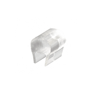 """CRL CPDB Clear Plastic Bumper for 3/16"""" Glass"""