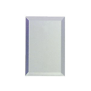 Clear Single Blank without Screw Holes Glass Mirror Plate