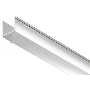 """CRL EHF360PNEXT 36"""" Polished Nickel Snap-in-Filler Insert for EZ-Adjust Header Kit"""