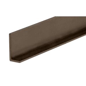 "CRL D317DU Duranodic Bronze Aluminum 3/8"" L-Bar Extrusion"