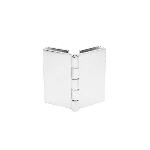CRL EH254 Chrome Double Glass-to-Glass 90 Degree Return Hinge