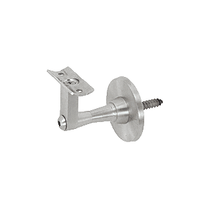 CRL HR2SWBS Brushed Stainless Manhattan Series Wall Mounted Hand Rail Bracket