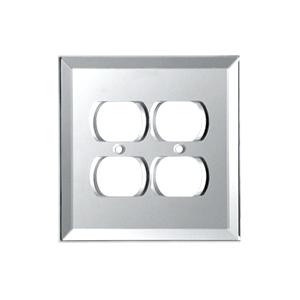 CRL GMP6C Clear Double Duplex Glass Mirror Plate