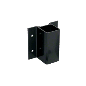 CRL FB1BL Matte Black Fascia Mount Bracket