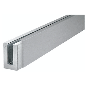 CRL BLCBS10 Brushed Stainless Cladding for B5L Series Low Profile Base Shoe