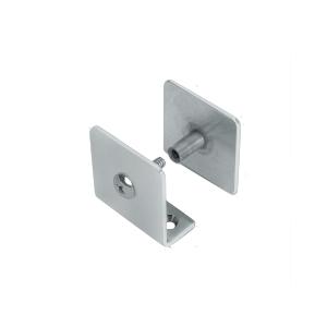 CRL PB001SC Satin Chrome Bullet Resistant Protective Barrier System U-Clamp
