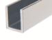 """CRL SDCD38BN Brushed Nickel 3/8"""" Fixed Panel Shower Door Deep U-Channel - 95"""""""