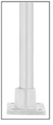 CRL A19RF Satin Anodized ACRS Ramp Floor Flange